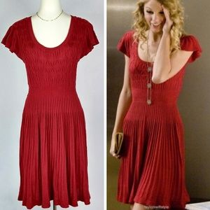 Anthropologie Red Sparrow Sweater Dress